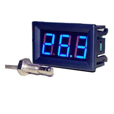 -60℃+999℃ Thermocouple Digital LED Temperature Thermometer Meter 12V 24V car