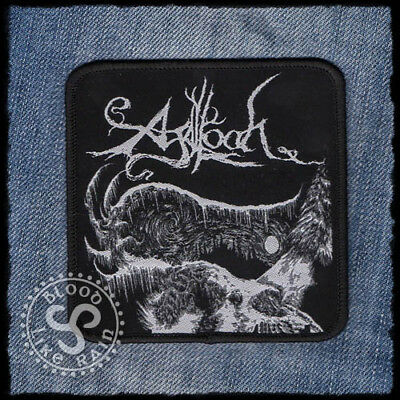 Agalloch Dark Winter Days Pale Folklore the Mantle woven patch aufnäher