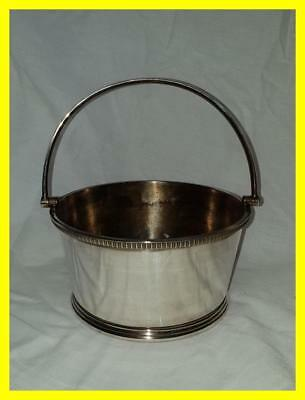 Garrard & Co Silver Plate Ice Bucket And Drainer, Good Quality.