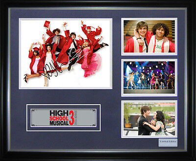High School Musical Signed Framed Memorabilia