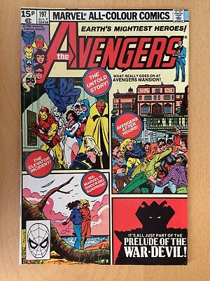 Avengers #197, July 1980 - Good condition