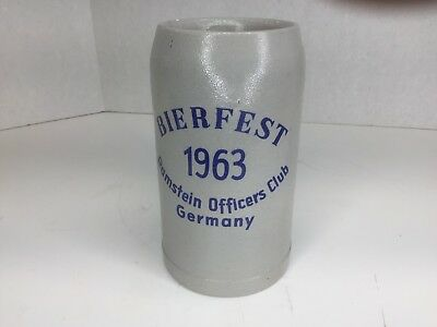 Bierfest 1963 - Ramstein Officers Club - Germany - 1 Liter Mug