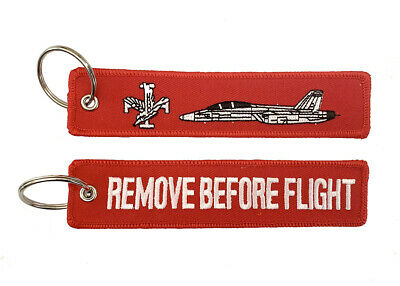 RAAF F/A18 Super Hornet Remove Before Flight Key Ring Luggage Tag