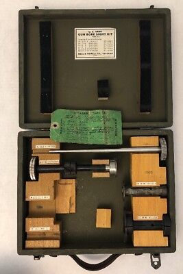 WWII US Army Gun Bore Sight Kit Type J-2, From 1943