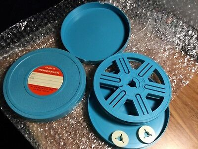 """W. Carson- Duel 8 - 5"""" Reel and Can Set - 2 - See Pics-filmmakers"""