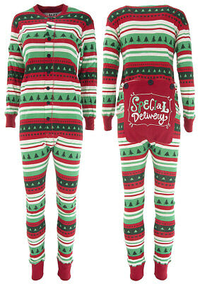 Lazy One Christmas Special Delivery Union Suit for Adults Size XS 65173308d