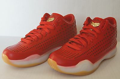 low priced 1f8c5 57fc8 New Nike Kobe X 10 Mid EXT Sneakers Sz 8.5 802366 600 University Red Gold