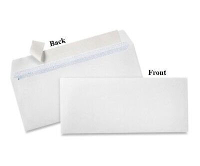 "#10 Self-Seal White Business Envelopes with Security Tint - 4 1⁄8"" x 9 1⁄2"""