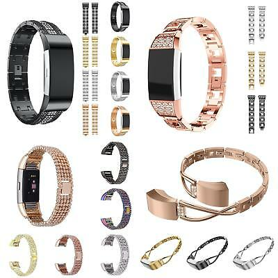For Fitbit Charge 2 Stainless Steel Bracelet Strap Replacement Watch Band Sight