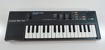 Casio SK-10 Keyboard Sampling Pulse Code Modulation Used TESTED WORKING