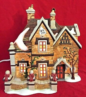 Tattyeave Knoll Dept 56 Dickens Village 58311 Snow Christmas Victorian house A