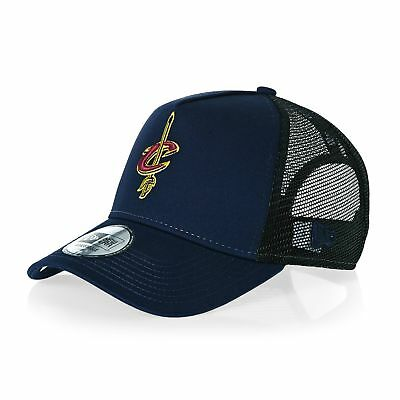New Era Reverse Team Trucker Mens Headwear Cap - Cleveland Cavaliers Otc