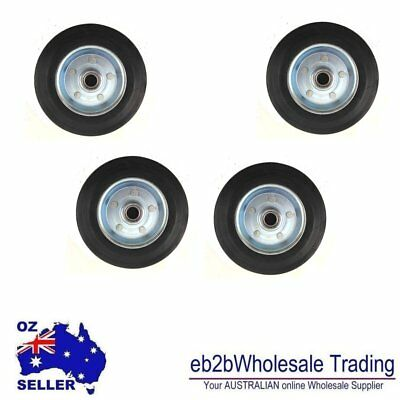 4p X Solid RUBBER WHEEL 3 INCHES
