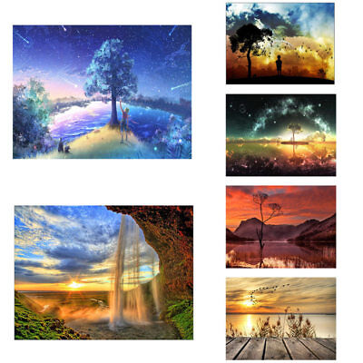 Full Drill 5D Diamond Painting Landscape Embroidery Cross Crafts Stitch Kit