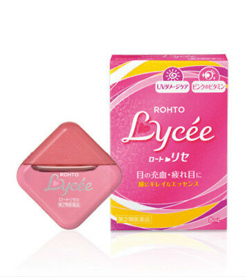 Rohto Japan Lycee Eyedrops Eye drops ( 8ml /0.27 fl.oz.) for General Users