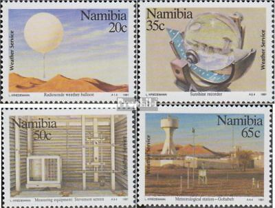 complete Issue Namibia 719-722 Unmounted Mint Never Hinged 1992 Südwasserfis