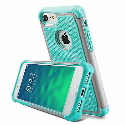 For Apple iPhone 6S Plus/ 6 Plus  Shockproof Rubber Hybrid Back Case Cover