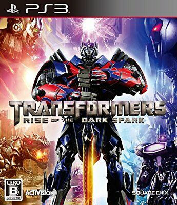 Transformers Rise of the Dark Spark - PS3 Japan
