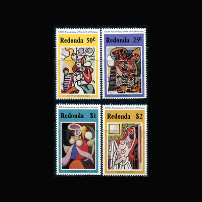 Redonda, MNH, 1981, Art, Paintings, Picasso, CL178F