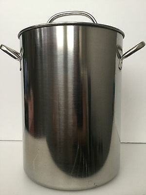 Stainless Steel Upright Asparagus Steamer Kettle With Basket Insert - Used Once!