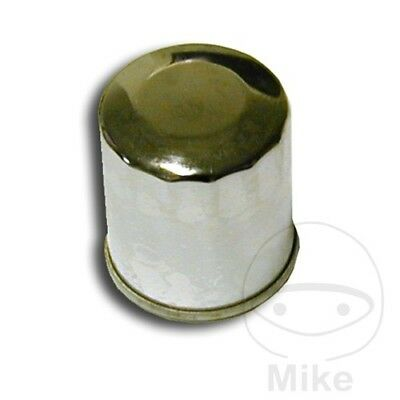 Oil Filter Chrome Hiflo HF303C Kawasaki VN 900 B Classic 2015