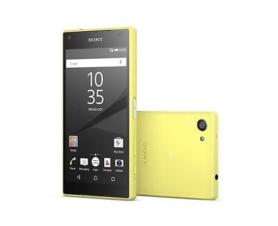 Sony XPERIA Z5 Compact in Yellow Handy Dummy Attrappe - Requisit, Deko, Werbung