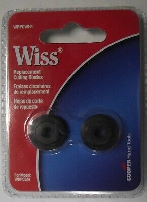 Wiss WRPCWH1 Replacement Cutting Wheels For Tubing Cutter
