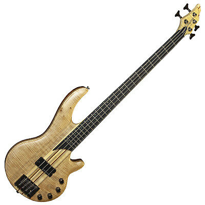 Tanglewood Long Scale Electric Bass Guitar Canyon 2 Active 3 Band EQ Maple Top