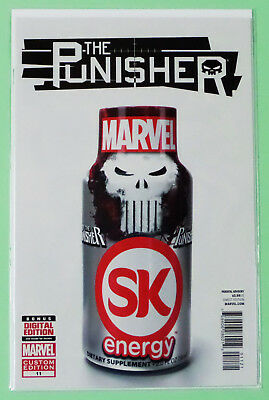 The Punisher #11 Energy Drink Variant Fist Printing. NM