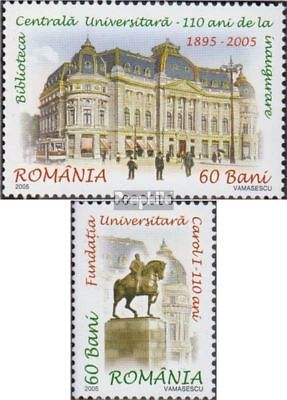 Romania 5999-6000 (complete.issue.) unmounted mint / never hinged 2005 universit
