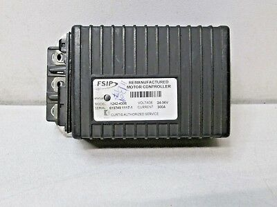 Curtis Fsip Remanufactured Motor Controller 1242-4306 24-36V 300A Used