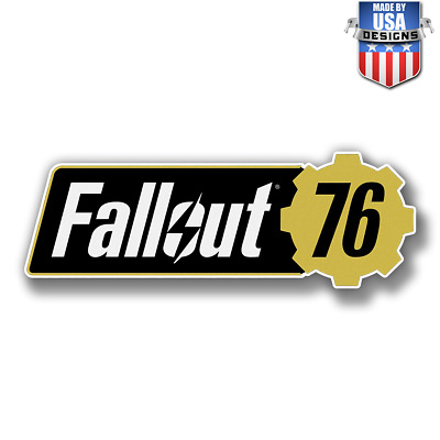 Fallout 76 vault boy game Sticker Decal Phone laptop Car Window art 20197