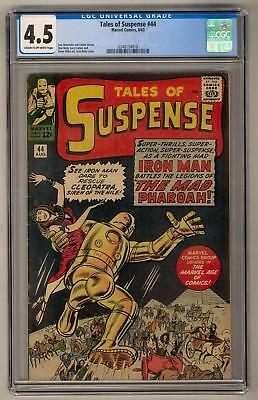 Tales of Suspense #44 CGC 4.5 (C-OW) Kirby Cover Ditko Art