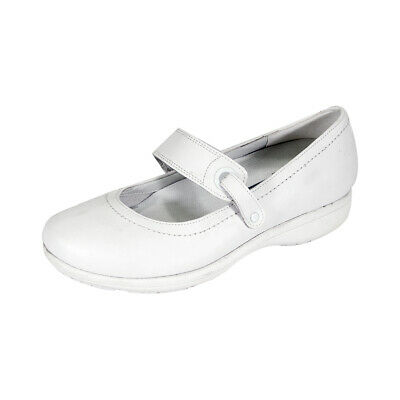 f04e5a323c93 24 HOUR COMFORT Kristi Women Wide Width Classic Comfort Leather Mary Jane  Shoes