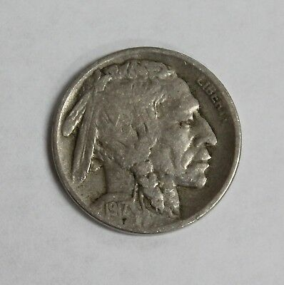 1917-D Buffalo Nickel Better Date & Original Mid-Grade with Low Price
