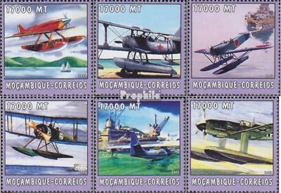 Mozambique 2572-2577 unmounted mint / never hinged 2002 World of Marine