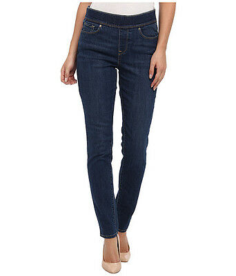 a9a86c9f22035d *nwt* Levis ~ Medium Wash Perfectly Slimming Pull On Leggings ~ 4 M /