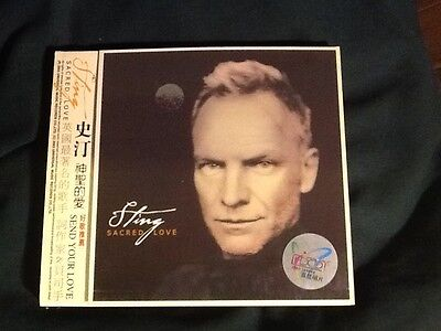 Sting - Cd - Scared Love - Japan - Very Little wear - but tested - 2003 see pics