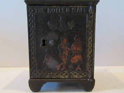 Roller Safe (Antique Cast Iron Still Bank)