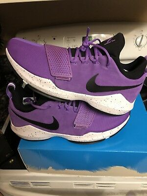best service 2f5ca 0f23e low cost nike pg 1 lakers purple 13cd7 ed587