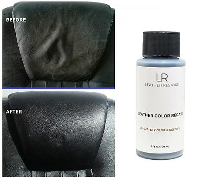 Leather Color Repair 1 Oz Recolor Restore Couch Furniture Sofa Restorer (No Kit)