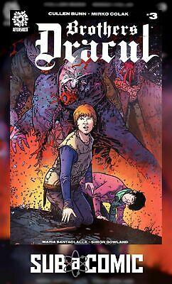 BROTHERS DRACUL #3 (AFTERSHOCK 2018 1st Print) COMIC