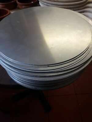 "Aluminium pizza pan separators 12"" Last 4 left"
