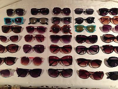 WHOLESALE JOB LOT ~ 10 PAIRS OF VINTAGE SUNGLASSES each Lot Varies