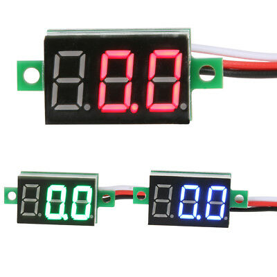 LCD Digital Voltmeter Voltimetro Volt Meter DC 2.4-30V DIY Home Acces