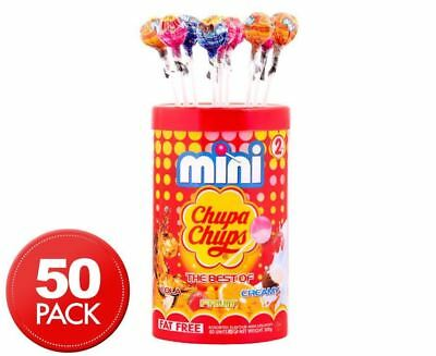 Mini Chupa Chups Tub Favourites Flavour The Best Of Candy Party Lollies Lolly