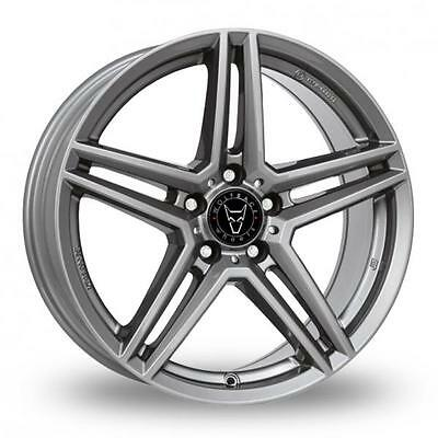 "16"" WOLFRACE M10 GUNMETAL ALLOY WHEELS ONLY BRAND NEW 5x112 ET38 RIMS"