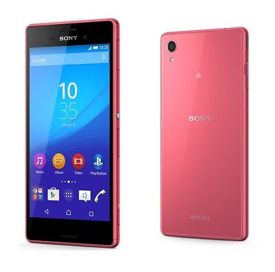 Sony Xperia M4 Aqua in Coral Handy Dummy Attrappe - Requisit, Deko, Werbung