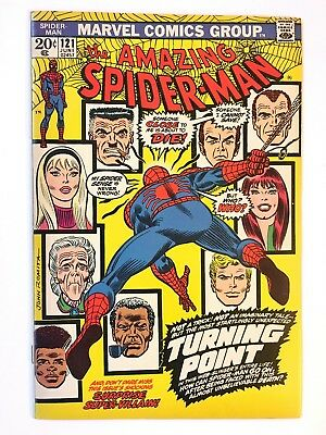AMAZING SPIDER-MAN #121 NEAR PERFECT HIGH GRADE DEATH OF GWEN STACY CGC it!!!