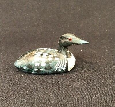 Small Common Loon Figurine 4""
